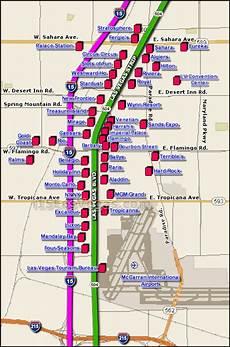map of las vegas strip free printable maps