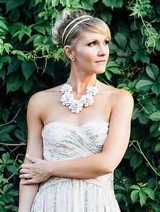 Strapless Wedding Dress Hair Style
