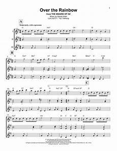 over the rainbow sheet music harold arlen ukulele ensemble