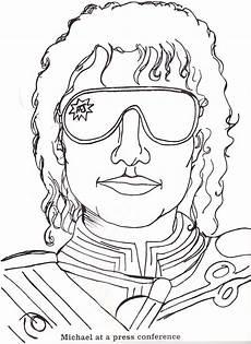 Malvorlagen Jackson Quest Michael Jackson Easy Coloring Pages
