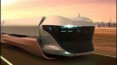 scania maglev future truck concept youtube