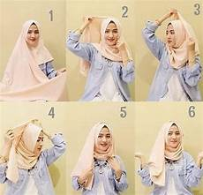 25 Tutorial Model Pashmina Simple Terbaru 2019