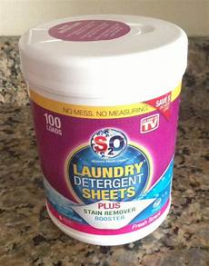 orlando daily deals s2o laundry detergent sheets review
