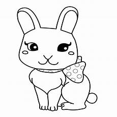 rabbit coloring pages for at getcolorings free