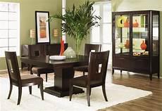 dark finish modern dining room w optional items