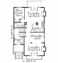 uphill slope house plans narrow uphill lot 8563ms 2nd floor master suite cad