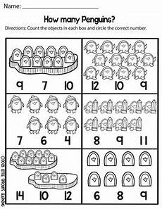 counting numbers to 20 worksheets 8045 penguin count and clip cards numbers 1 20 plus worksheets tpt