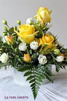 centro fiori la rosa candita gialle