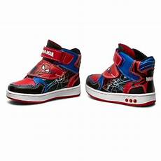 spiderman schuhe schn 252 rschuhe spiderman ultimate cp23 5580sprmv blau bunt