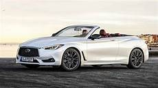 handsome infiniti q60 convertible takes its top for