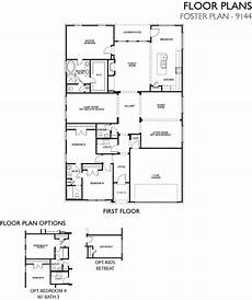 c foster housing floor plans foster 9144 new home plan in dallas by ashton woods