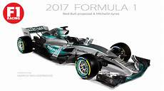 2017 F1 Regulations Visualized Mercedes W08 Preview On