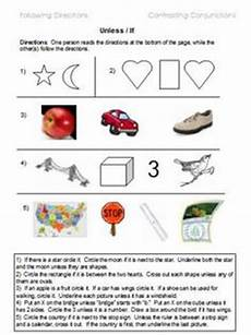 directions exercises doc 11666 following directions worksheets activities goals and more 171 free language stuff following