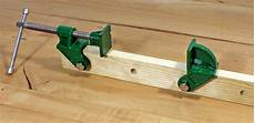 schraubzwinge selber bauen pipe cls cl heads tools