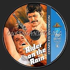 charles bronson collection rider the rain dvd label dvd covers labels by customaniacs