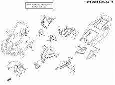 complete black fairing bolt kit screws for 1998 2001 yamaha yzf r1 ebay