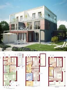 moderne doppelhaushälfte grundrisse doppelhaus modern mit flachdach architektur wintergarten