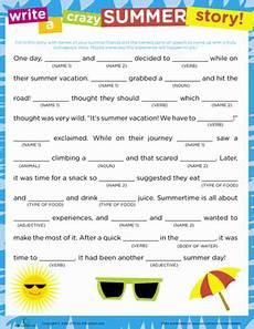 story summer worksheet education com