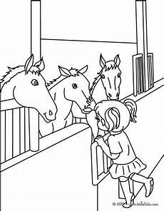 pferde im stall zum ausmalen zum ausmalen de hellokids