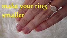 diy resize ring smaller how to make a ring smaller lifehack resize a wedding ring youtube
