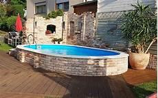pool umrandung selber bauen poolakademie de bauen sie ihren pool selbst wir helfen