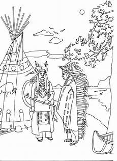 two americans american coloring pages