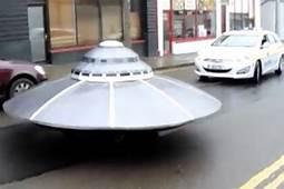Police Chase UFO Along Quiet Street In Ireland Bizarre