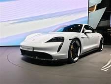 2020 Porsche Taycan Makes Public Debut At Frankfurt  Carbuyer