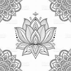 naadloze decoratief patroon in etnische oosterse stijl