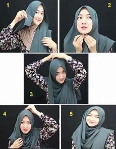 Gambar Tutorial Jilbab Segi Empat Ar Production