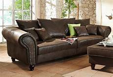 couch braun home affaire big sofa 187 bigby 171 frei im raum stellbar