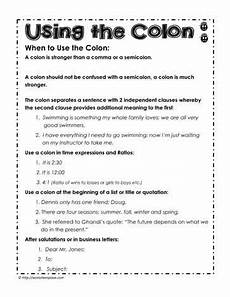 colon practice worksheet mmosguides
