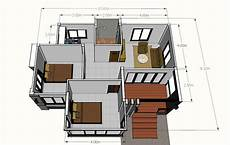 modern one bedroom house plans modern 2 bedroom single story house pinoy house plans
