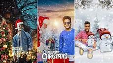 picsart merry christmas photo editing tutorial christmas photo editing youtube