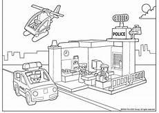 Ausmalbilder Polizeistation Kleurplaten Playmobil Politie Brekelmansadviesgroep