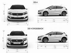 dimension ds4 crossback ds4 crossback technical specifications ds automobiles