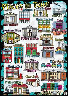 esl worksheets places in town 16001 31 free esl museum worksheets