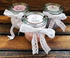 Muttertagsgeschenke Selber Machen - muttertagsgeschenk badesalz muttertag basteln