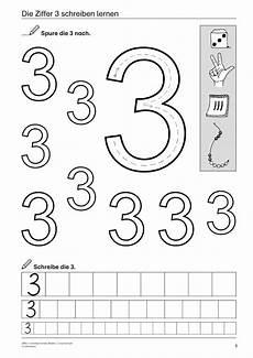ziffer 3 schreiben lernen mathematik 1 klasse und