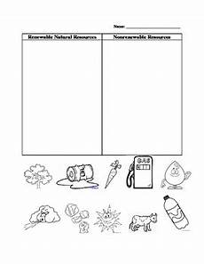 renewable and nonrenewable resources by positsleslie tpt