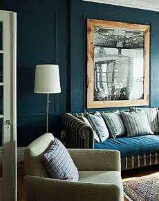 Petrol Farbe Als Wandfarbe Und Deko Blue Lounge