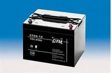 ctm wartungsfreie agm batterie bleiakku ct44 12i 12 volt