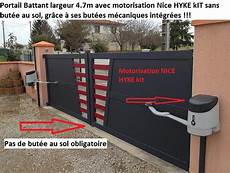 Portail Battant Aluminium Sur Mesure Pas Cher Le Portail Alu