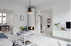 swedish home decor inviting white swedish apartment with vintage fireplaces