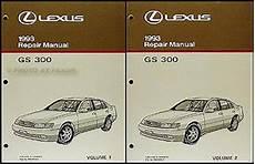 auto manual repair 1993 lexus es electronic throttle control 1993 lexus gs 300 repair shop manual 93 origninal gs300 service book oem ebay
