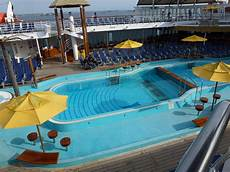 pool spa fitness on carnival inspiration cruise ship cruise critic