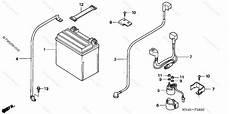 honda atv 2006 oem parts diagram for battery partzilla com