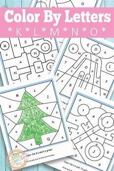 letter color worksheets 23037 color by letters k l m n o free printable activities
