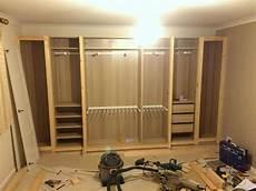 garderoben ideen ikea pax traditional fitted wardrobe hack organized closet