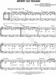 kacey musgraves quot merry go round quot sheet music easy piano in f major download print sku